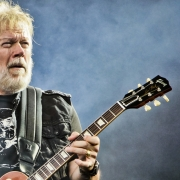 Randy Bachman performing with the Winnipeg Symphony Orchestra